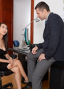 sex pics Asian sharon lee fucking in an office, Sharon Lee , big tits , hardcore