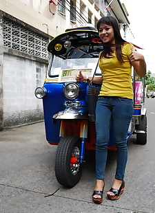 sex pics Female Tuk Tuk driver and a Farang ham, amateur