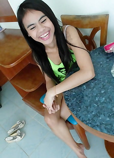 sex pics Little Thai slut Ann reveals her, amateur