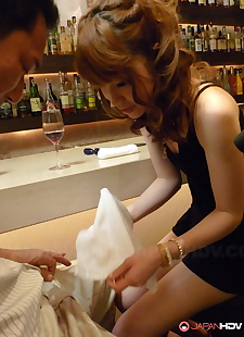 japanese sex pics Lovely Japanese redhead Shiori Amano, skirt , legs  blowjob