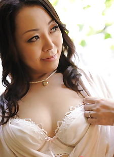 japanese sex pics Japanese solo model Yuna Yamami grabs, nipples , undressing  hairy