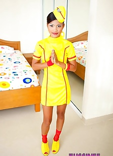 sex pics Super sexy stewardess tussinee strips, Tussinee , teen , skinny