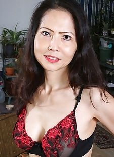 sex pics Mature asian babe emmeline johnson, Emmeline Johnson , big tits , milf